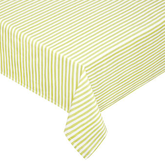 Tablecloth in 100% yarn-dyed cotton