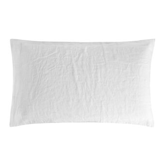 Plain pillowcase in 145 g linen