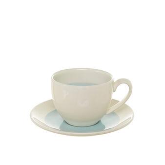 Tazza da tè in ceramica decorata Soleil