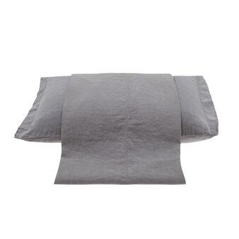 Sacco copripiumino lino lavato