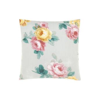 Cuscino stampa rose