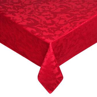 Cotton jacquard tablecloth and napkins set