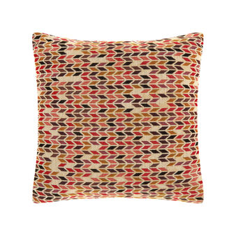 Patterned cushion in gobelin fabric