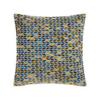 Cuscino in gobelin fantasia geometrica