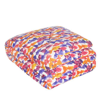 Fish quilt in 100% cotton percale
