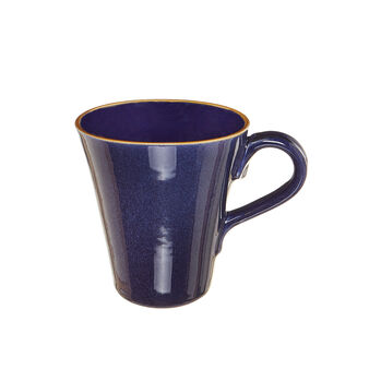 George ceramic mug with contrasting colour rim