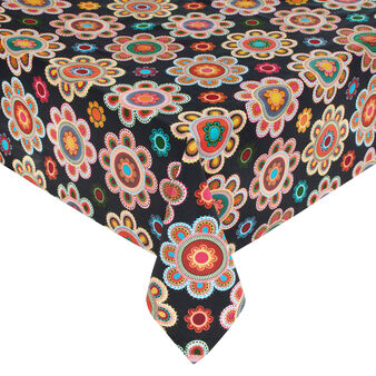 Gipsy Flower 100% cotton tablecloth with print