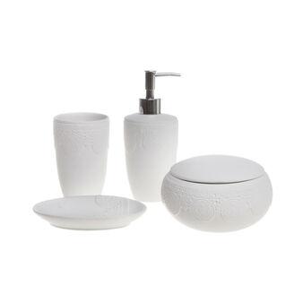 Set bagno ceramica merletto