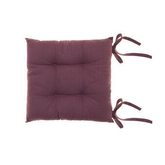 Cuscino da sedia cotone fiammato
