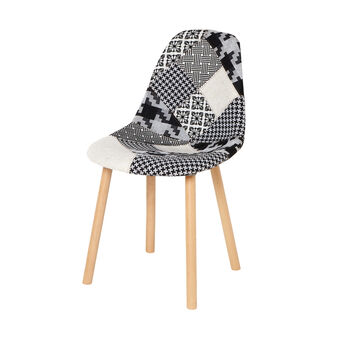 Patchwork fabric chair