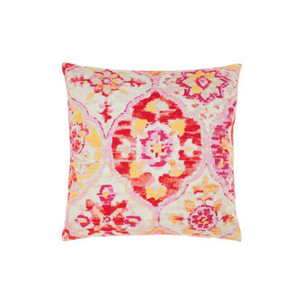Cotton cushion with pattern print