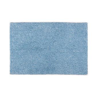 Salt and pepper 100% tufted cotton bath mat