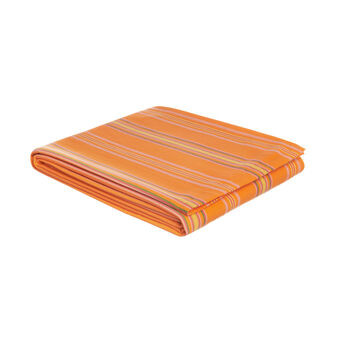 Single striped bedspread