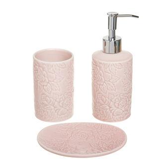 Set bagno ceramica rose