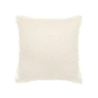 Portofino lace cushion