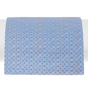 Mosaic sheet in 100% cotton percale.