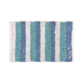 100% braided cotton bath mat
