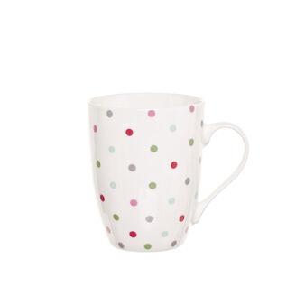 Mug in porcellana a pois