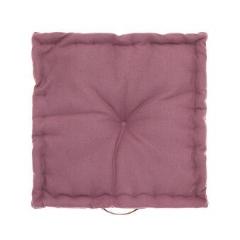 100% cotton cushion with high edge