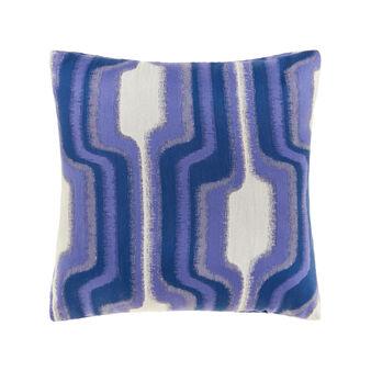 Jacquard cushion with pattern