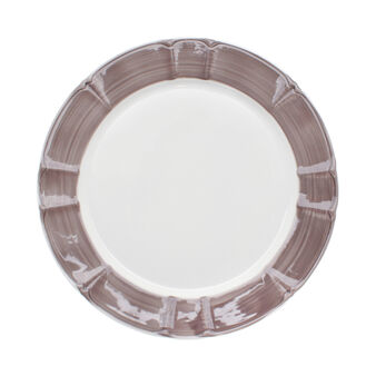Provence ceramic plate charger