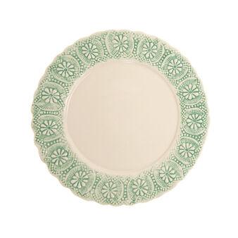 Hand-made ceramic plate