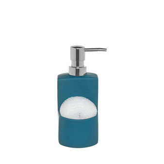 Kitchen soap dispenser with sponge