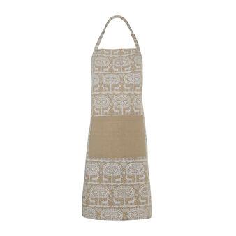 Bib apron with Reindeer print