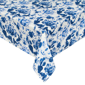 100% cotton tablecloth with Victory print