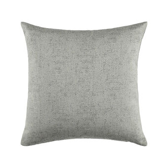 Cushion with mélange weave