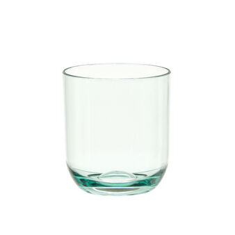 Smooth plastic glass