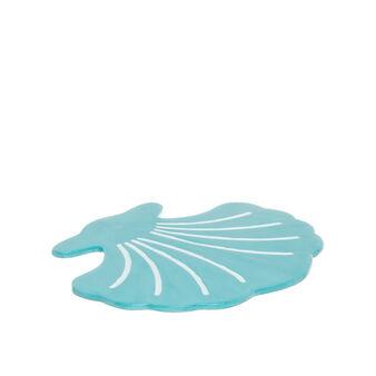 Shell ceramic trivet