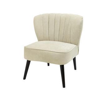 Camille velvet armchair
