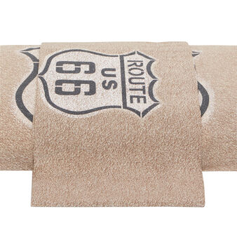 Route 66 cotton percale flat sheet
