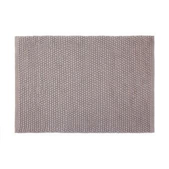 Pop corn texture bath mat