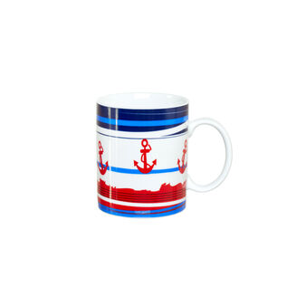 Anchor porcelain mug