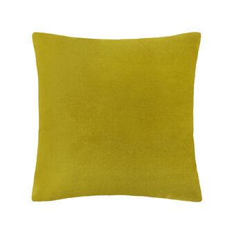 Linen blend cushion