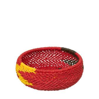 African basket.