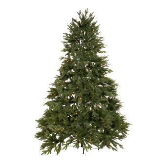 Albero di Natale Cortina con LED 400 luci H 210cm