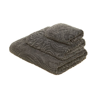 100% cotton stonewashed towel