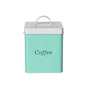 Enamelled Coffee tin