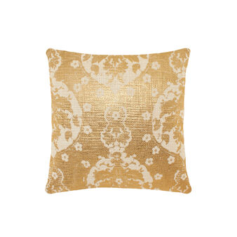 Coated-effect cushion