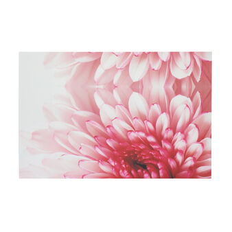 Canvas with floral print