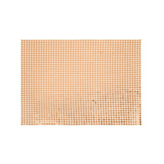 Aluminium mesh table mat