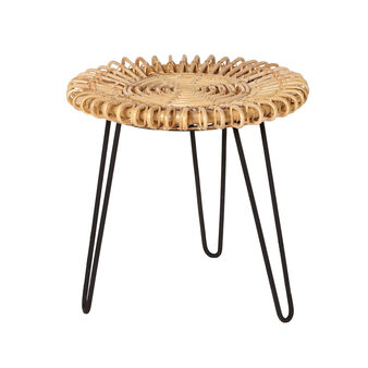 Margaret rattan occasional table