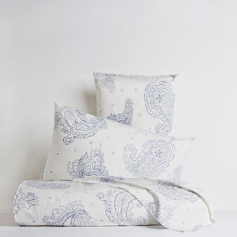 Paisley flat sheet 100% cotton percale