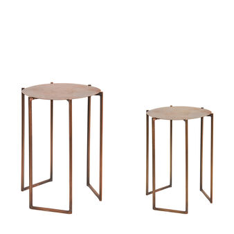 Cargo set of 2 coffee tables