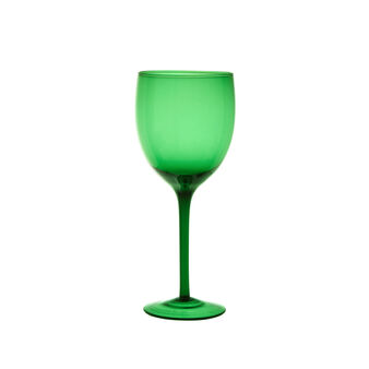 Coloured wine glass