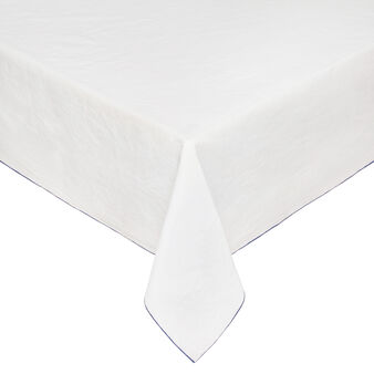 Linen and cotton tablecloth with soft hand