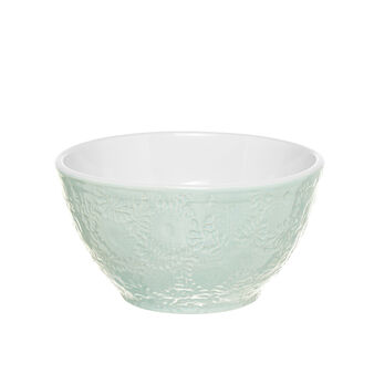 Ceramic bowl with decoration